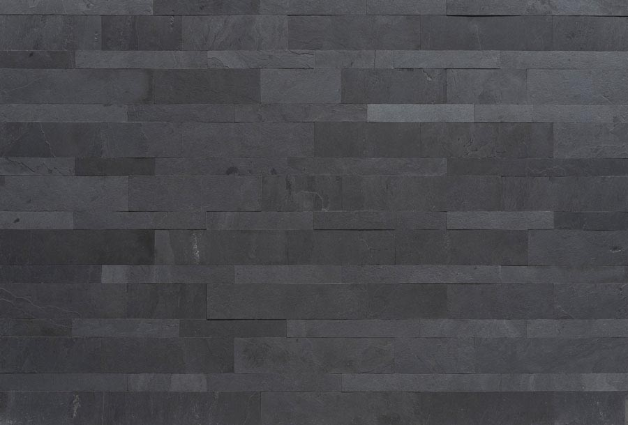Black Plain Mosaic 1200x600mm