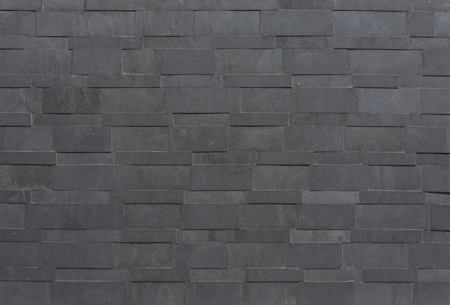 Black 3D Mosaic 1200x600mm