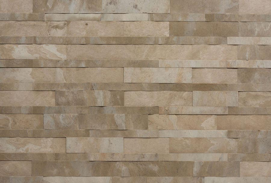 Tan Plain 3D Mosaic 1200x600mm